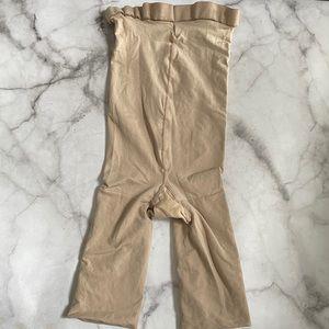 SPANX shapewear high rise shorts in Barest Size B